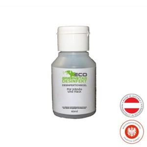 ECO GREENSTAR DISINFECT hand gel 60ml